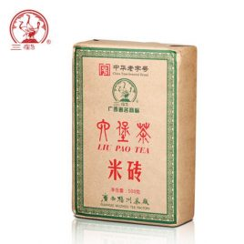 Liu Pao Tea (Mi Zhuan)  – Dark Tea – Three Crane Brand – 2016