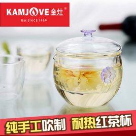 Brew Tea Glassware – Glassware – Teaware – Kamjove – 200ml