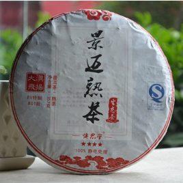 801 Jing Mai Shu Cha – Ripe Pu-erh Tea – DaDianHao – 2013 – 357g
