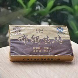 Bu Lang Sheng Zhuan – Raw Pu-erh Tea – DaDianHao – 2013
