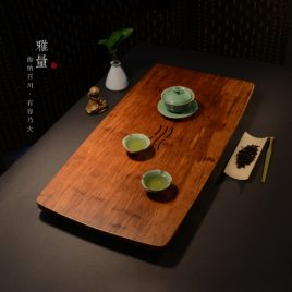 Tea Tray – Decoration – Ya Liang Bamboo Tea Tray – Xiang Fu – L