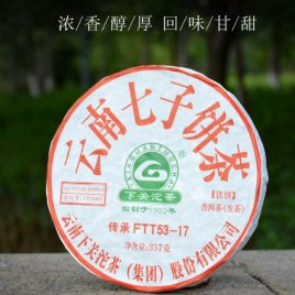 ChuanChengFTT53-17 – Raw Pu-erh Tea – XiaGuan – 2017